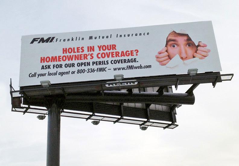 Homowners Insurance Billboard