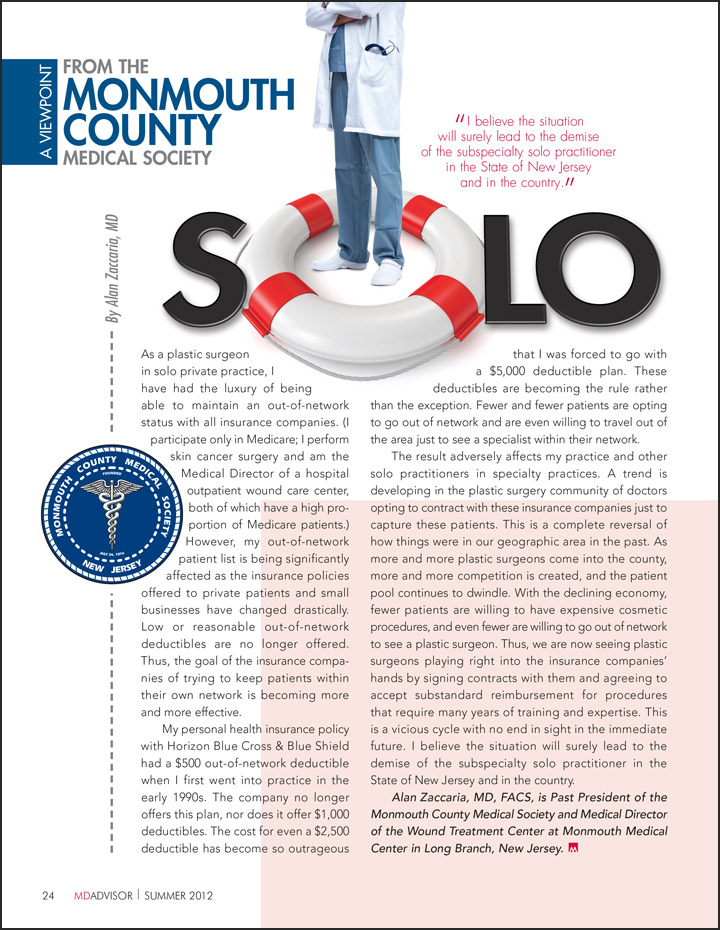 Medical Journal Solo Practice