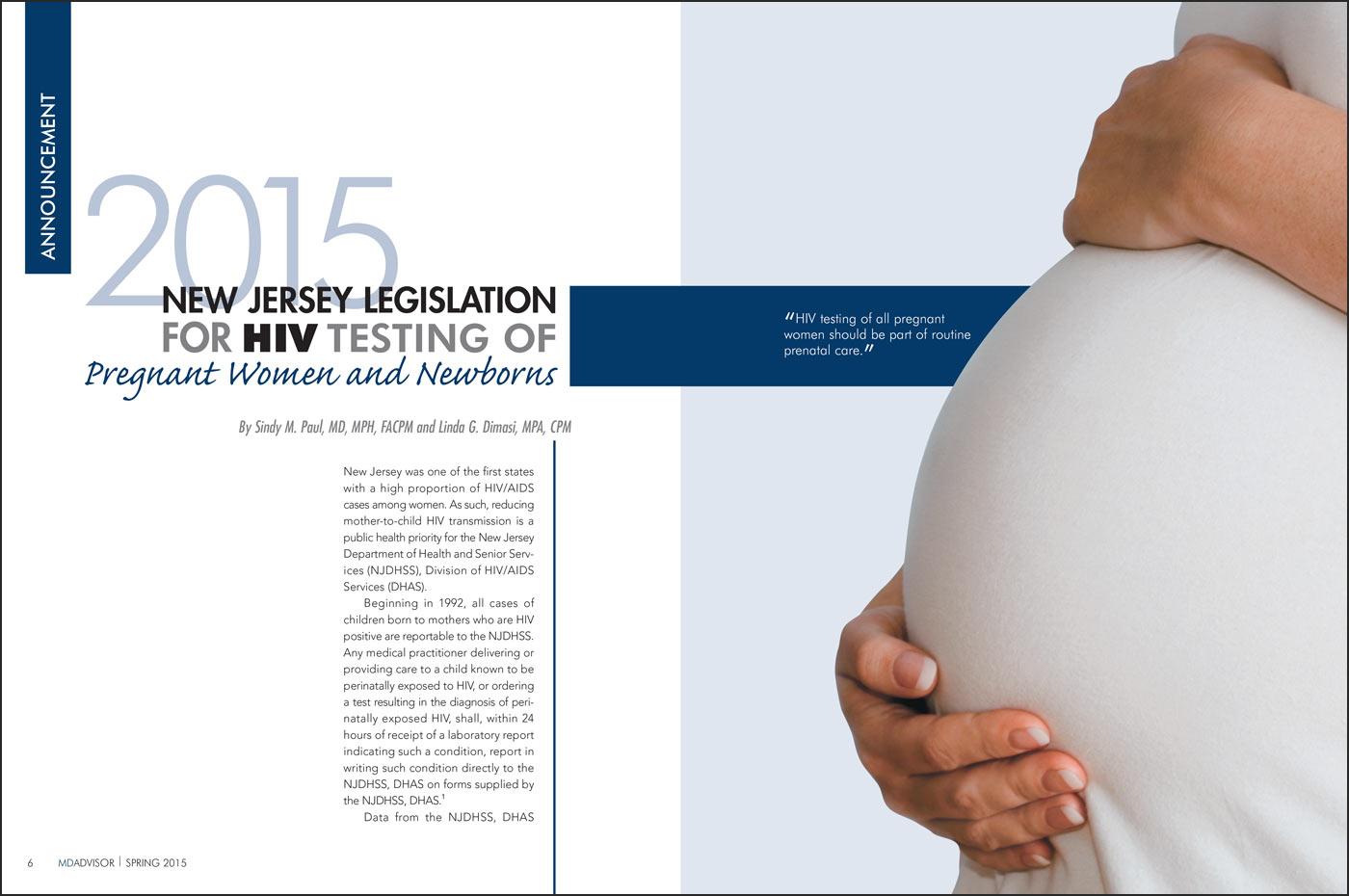 Medical Journal Pregnancy Article