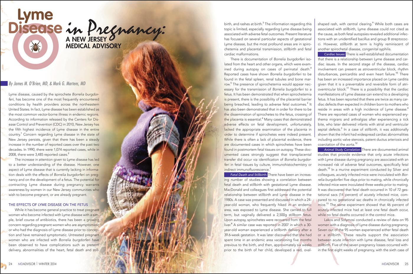 Medical Journal Lyme Article