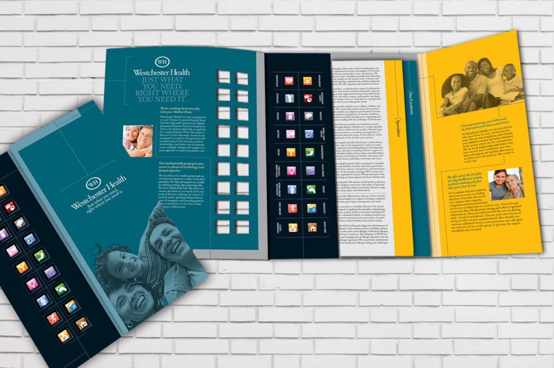 Welcome Kit Medical Folder Design