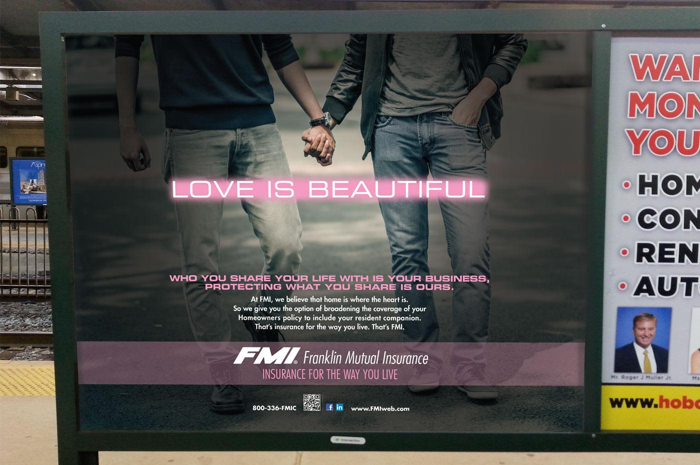 Cohabitation Isurance Transit Poster