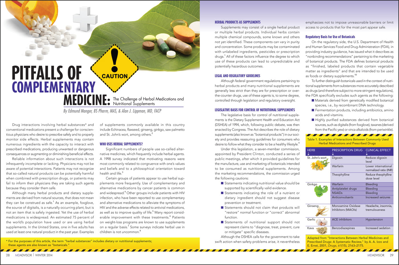 Medical Journal Drug Article